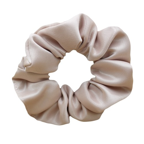 Handmade Rose Satin Scrunchie Hair Rubber
