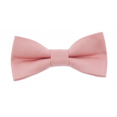 Pink Baby Pre-Tied Bow Tie 0-12 Months Old
