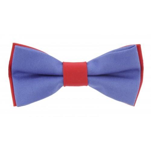 Blue - Red Men's Pre-Ties Bow Tie