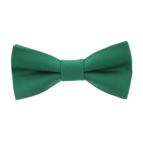 Green Baby Pre-Tied Bow Tie 0-12 Months Old