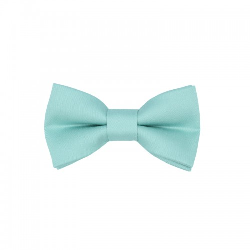 Pistachio Color Kid Pre-Tied Bow Tie For 0-36 Months Old