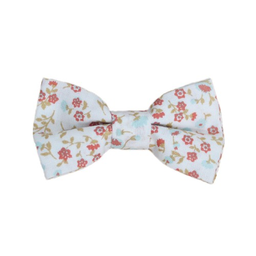 Floral Kid Pre-Tied Bow Tie For 0-12 Months Old