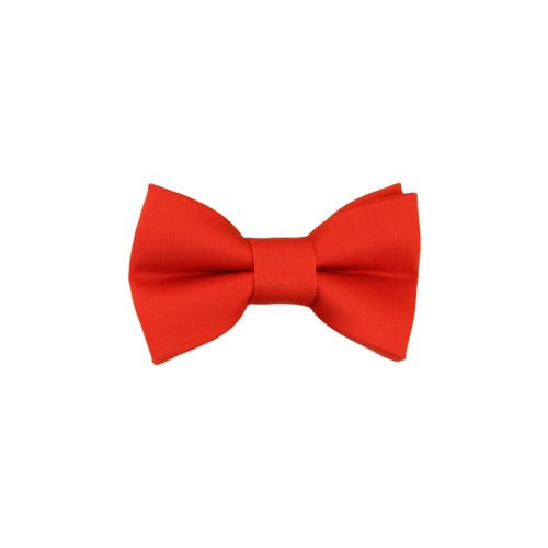 Red Baby Pre-Tied Bow Tie 0-12 Months Old