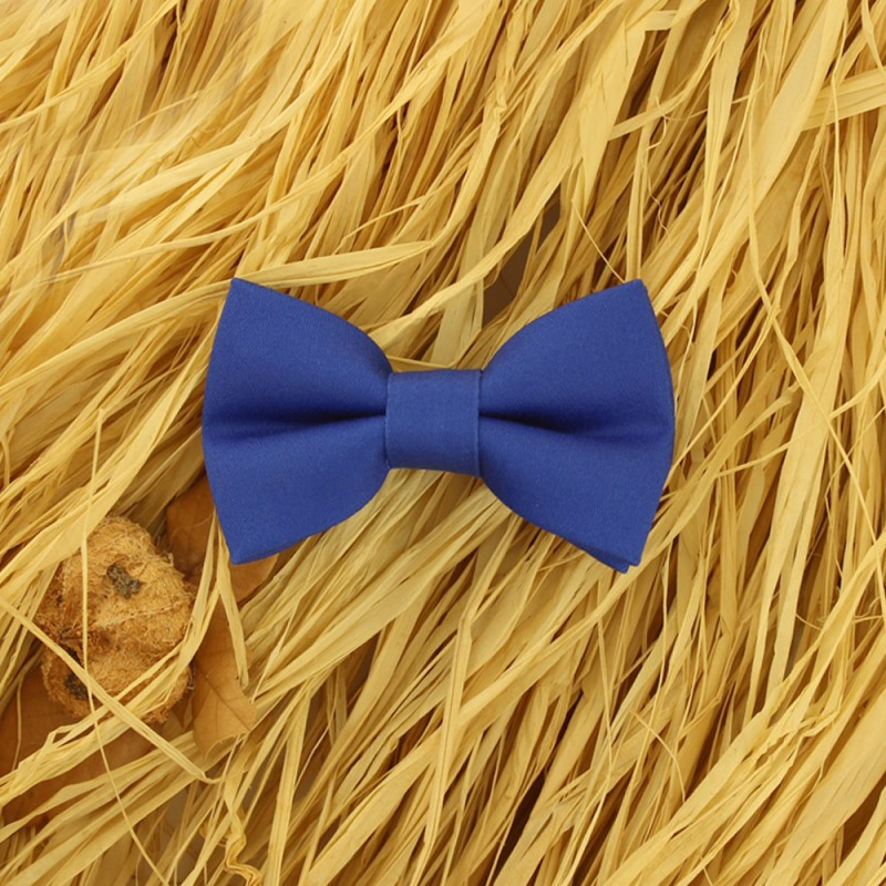 Royal Blue Baby Pre-Tied Bow Tie 0-36 Months Old