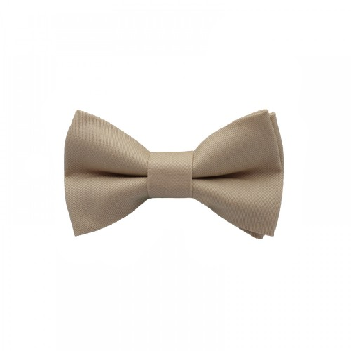 Beige Baby Pre-Tied Bow Tie 0-36 Months Old