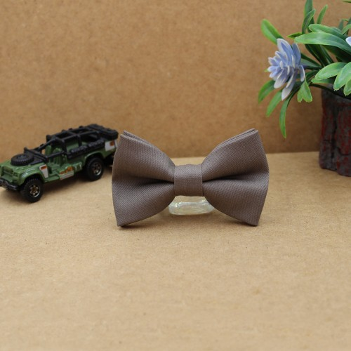 Light Brown Cigar Baby Pre-Tied Bow Tie 0-36Months Old