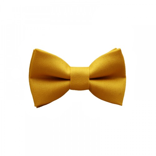 Mustard Baby Pre-Tied Bow Tie 0-36Months Old