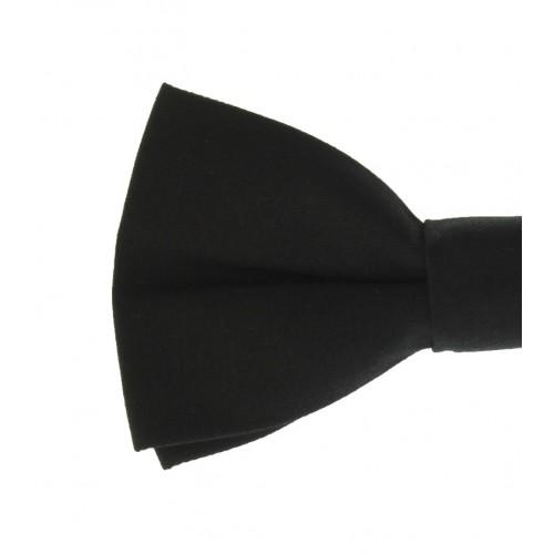 Black Men's Pre-Tied Bow Tie