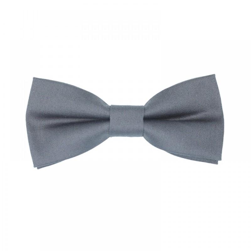 Gray Men's Pre-Tied Bow Tie