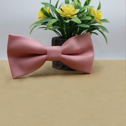 Pink Men's Pre-Tied Bow Tie