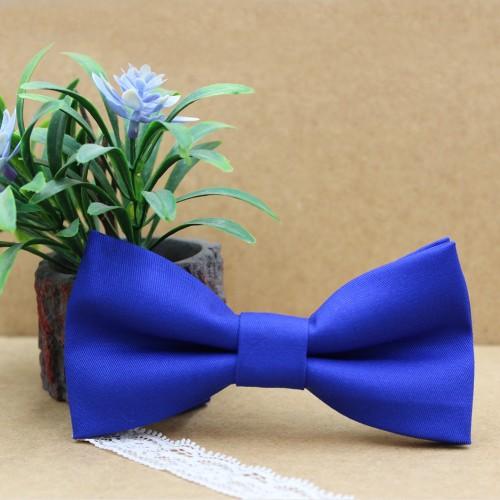 Royal Blue Men's Pre-Tied Bow Tie