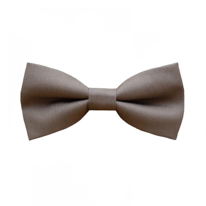 Light Brown Cigar Men's Pre-Tied Bow Tie