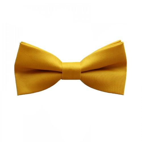 Mustard Men's Pre-Tied Bow Tie