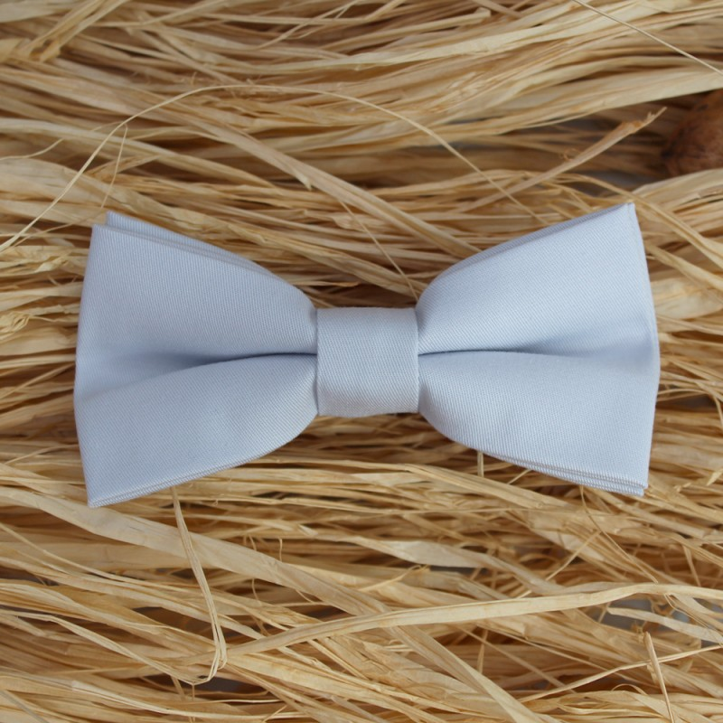 Light Blue Men's Pre-Tied Bow Tie