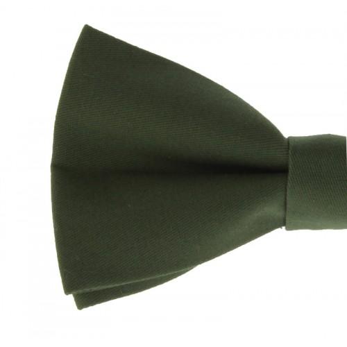 Khaki Men's Pre-Tied Bow Tie
