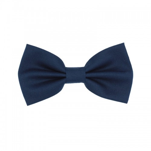 Blue Navy Kid Pre-Tied Bow Tie For 2-6 Years Old