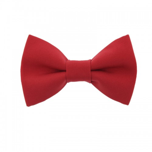 Red Kid Pre-Tied Bow Tie 7-14 Years Old