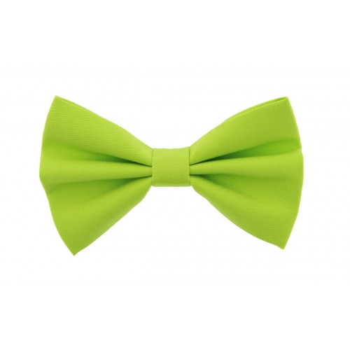 Light Green Kid Pre-Tied Bow Tie For 2-6 Years Old