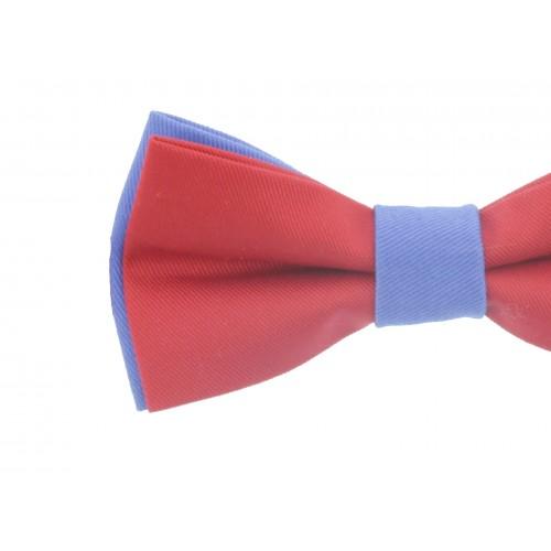 Red - Blue Men's Pre-Ties Bow Tie