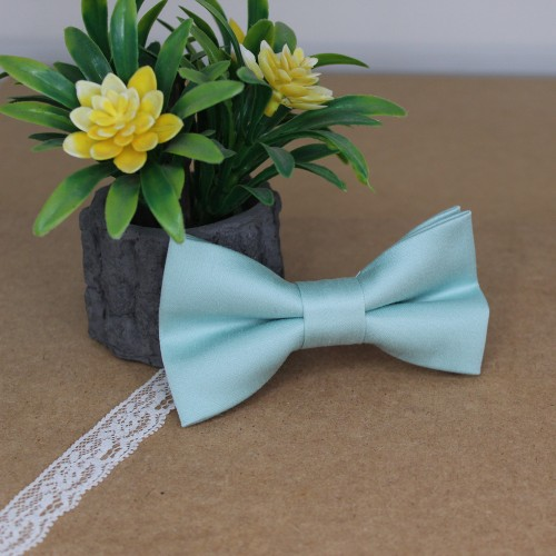 Pistachio Kid Pre-Tied Bow Tie For 2-6 Years Old