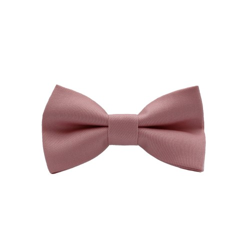 Pink Kid Pre-Tied Bow Tie For 1-6 Years Old