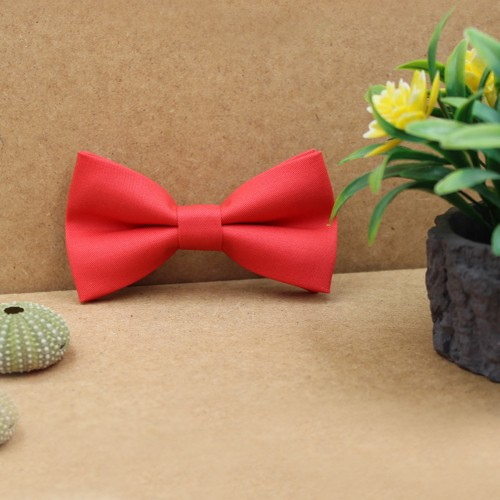 Coral Kid Pre-Tied Bow Tie For 1-6 Years Old