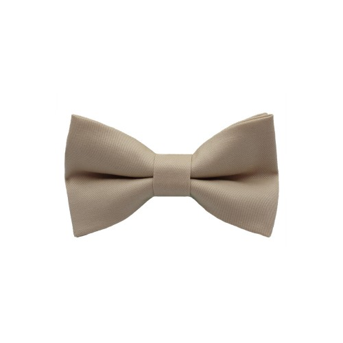 Beige Kid Pre-Tied Bow Tie For 2-6 Years Old