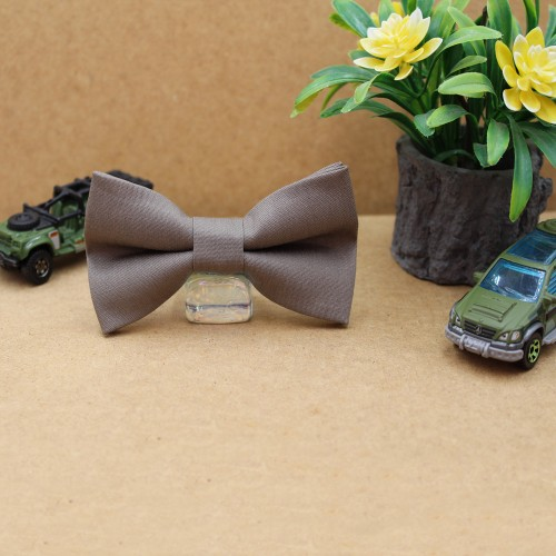 Brown Cigar Kid Pre-Tied Bow Tie For 2-6 Years Old